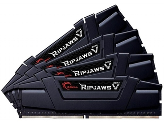 G.skill pamięć do pc - ddr4 32gb 4x8gb ripjawsv 4000mhz cl18 xmp2 black