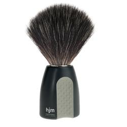 Mühle hjm męski pędzel do golenia z syntetycznym włosiem czarno-szary 21 p 8 sgr