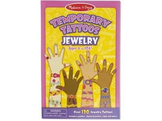Biżuteria tatuaże dla dziewczynek