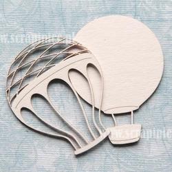 Dekoracyjny balon z siatką 4,5x6,5 cm - 4 - 4,5X6,5