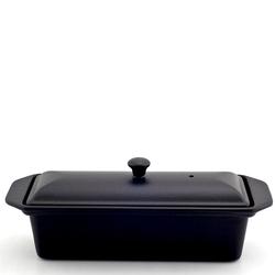 Brytfanna żeliwna emaliowana z pokrywką Chasseur 1L czarna 3828-01