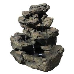 Fontanna wodospad oczko wodne do ogrodu + led