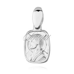 Srebrny medalik jezus chrystus