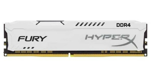 HyperX DDR4 Fury White 8GB2400  CL15