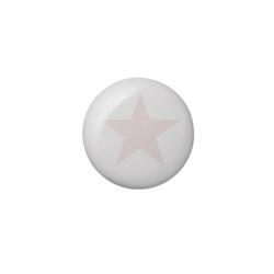 Gałka ceramiczna różowa gwiazdka