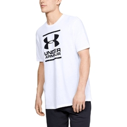 Koszulka męska under armour gl foundation ss t - biały