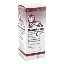 Bromhexin krewel meuselb.tropfen 8mgml