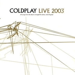 Live 2003 dvd - coldplay płyta cd