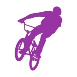 szablon malarski rower sp a47