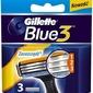 Gillette blue 3, wkłady do maszynki do golenia, 3 ostrza, 3 sztuki