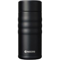 Kubek szczelny z wewnętrzną powłoką ceramiczną Kyocera Twist Top czarny MB-12SBK