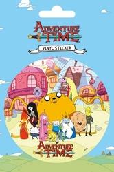Adventure Time Group - naklejka
