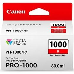 Tusz Oryginalny Canon PFI-1000R 0554C001 Czerwony - DARMOWA DOSTAWA w 24h