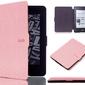 Etui alogy smart case do kindle paperwhite 123 różowe - różowy