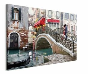 Venice Bridge - obraz na płótnie
