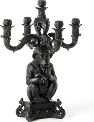 Świecznik Burlesque Chimp czarny