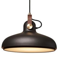 Le klint :: lampa wisząca carronade black ø40 cm