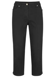 Spodnie modelujące sylwetkę 34 bonprix czarny