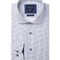 Biała koszula profuomo w ciekawy wzór slim fit 37