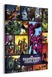 Strażnicy galaktyki, komiks - obraz na płótnie
