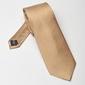 Beżowy krawat jedwabny
