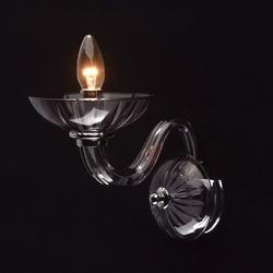 Kinkiet z dymionego szkła ella mw-light elegance 483022601