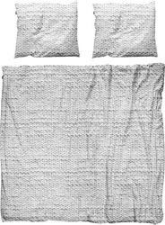 Pościel twirre 200 x 220 cm szara