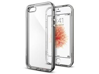 Etui spigen neo hybrid iphone 78se 2020 crystal gunmetal - szary