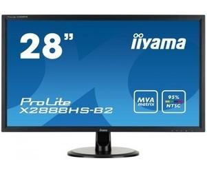 Iiyama monitor 28  x2888hs-b2 mva,flickerfree,speakers                 1920x1080,178178