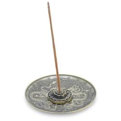Podstawka do kadzideł metalowa - taniec smoków 1