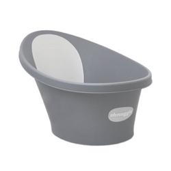 Wanienka shnuggle z piankowym oparciem slate grey, 0+