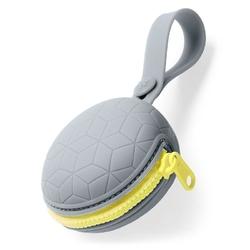 Skip hop silikonowe etui na smoczek grey