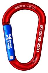Karabinek rockx accessory carabiner red