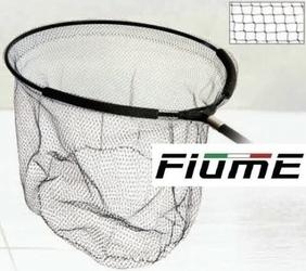 Zawodniczy kosz żyłkowy do podbieraka Fiume Competition 55x50cm z pływakiem