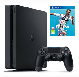 Konsola Sony PS4 1TB Slim + FIFA 19