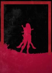 League of legends - katarina - plakat wymiar do wyboru: 30x40 cm