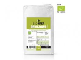 Bio mąka orkiszowa typ 650 jasna - 1kg