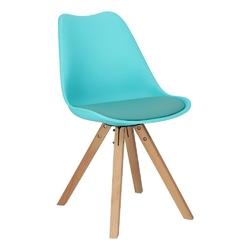 Krzesło norden star square pp niebieski - niebieski
