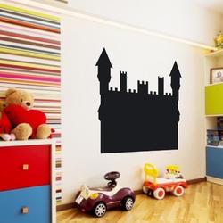 Bajkowy zamek 2tk00 naklejka tablicowa dla dzieci