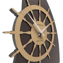 Zegar ścienny sailing calleadesign niebieski 10-014-44