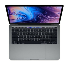 Apple MacBook Pro 13 Touch Bar: 1.7GHz quad-8th IntelCorei716GB256GB - Space Grey MUHP2ZEAP1R1