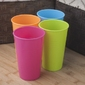 Kubek plastikowy 350 ml mix kolorów