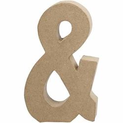 Litera z papier mache 20,5x2,5 cm -  -