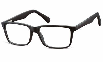 Oprawki korekcyjne nerdy zerówki flex sunoptic cp162 czarne