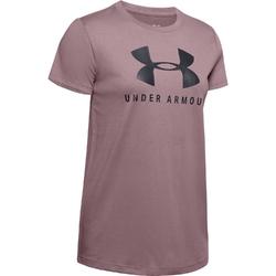 Koszulka damska under armour sportstyle classic crew - różowy