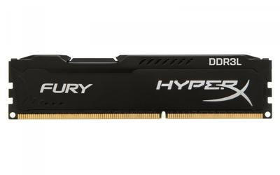 HyperX DDR3 HyperX Fury 4GB1600 CL10 BLACK Low Voltage