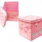 Pufa pudełko pojemnik zaska - flaming różowy