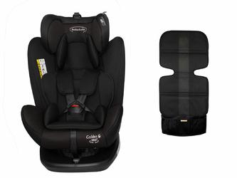 BabySafe Golden 360 Czarny Fotelik obrotowy 0-36kg + Daszek