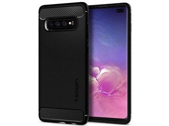 Etui spigen rugged armor do samsung galaxy s10 plus matte black