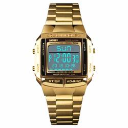 Zegarek SKMEI 1381 bransoleta ELEKTRONICZNY gold - GOLD